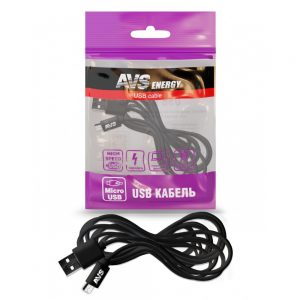 Кабель AVS micro USB (3м) MR-33