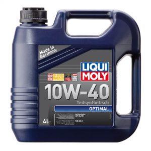 Моторное масло LIQUI MOLY Optimal 10W40 4л