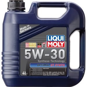 Моторное масло LIQUI MOLY Optimal HT Synth SN 5W30 4л
