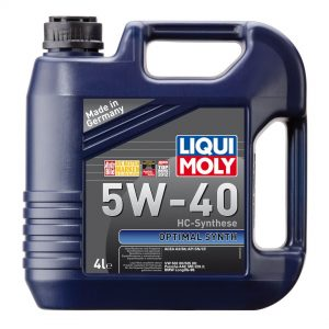 Моторное масло LIQUI MOLY Optimal Synth SN 5W40 4л