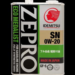 Zepro Eco Medalist 0W-20