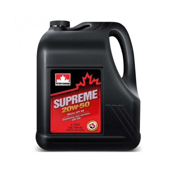 петро-канада supreme 20w50 4л