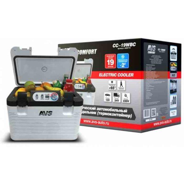 Холодильник автомобильный AVS CC-19WBC 1