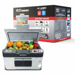 Холодильник автомобильный AVS CC-24WBC