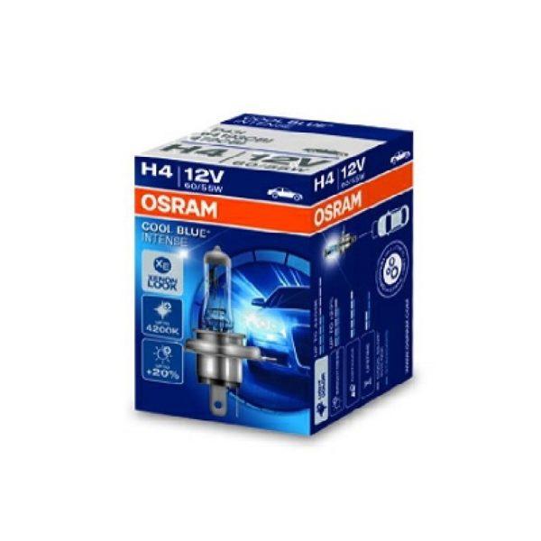 лампа OSRAM-H4-12V-60-55W Cool-Blue-Intense 1