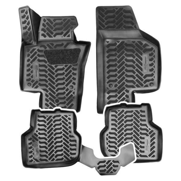 Коврики в салон 3D VW Jetta VI (2010-) AVS SK-56 (компл. 4 предм.) 1.jpg