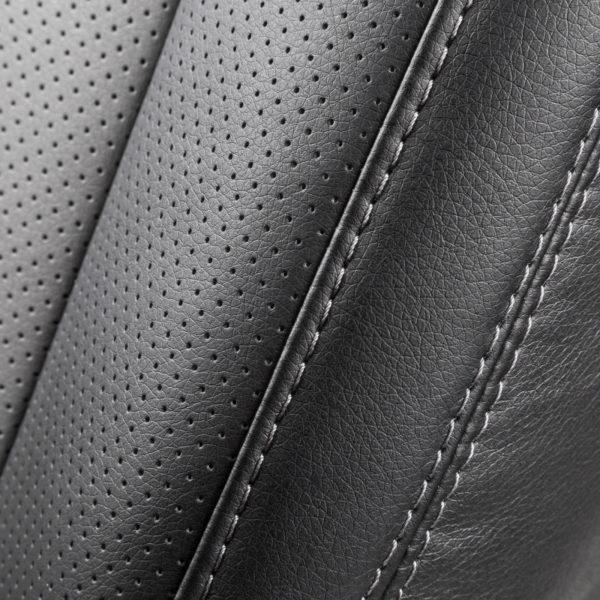 Модельные чехлы AUTOPROFI для Kia Ceed (2012-2018) экокожа, чёрный-темно серый 4