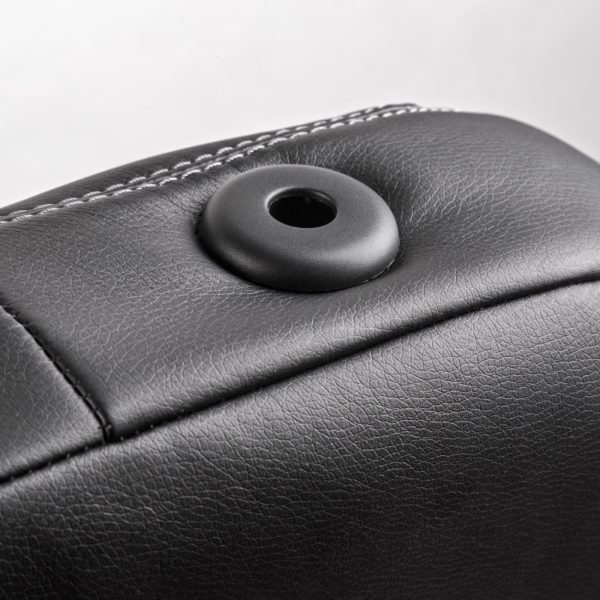 Модельные чехлы AUTOPROFI для Kia Ceed (2012-2018) экокожа, чёрный-темно серый 6
